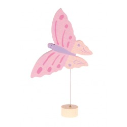 Steker vlinder roze