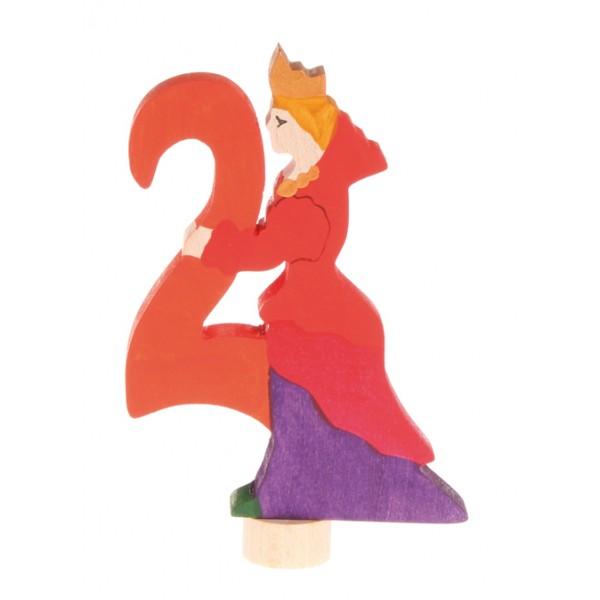 Grimms Steker sprookjes getal cijfer 2