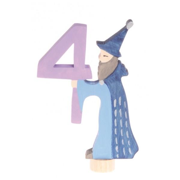 Ostheimer Steker sprookjes getal cijfer 4