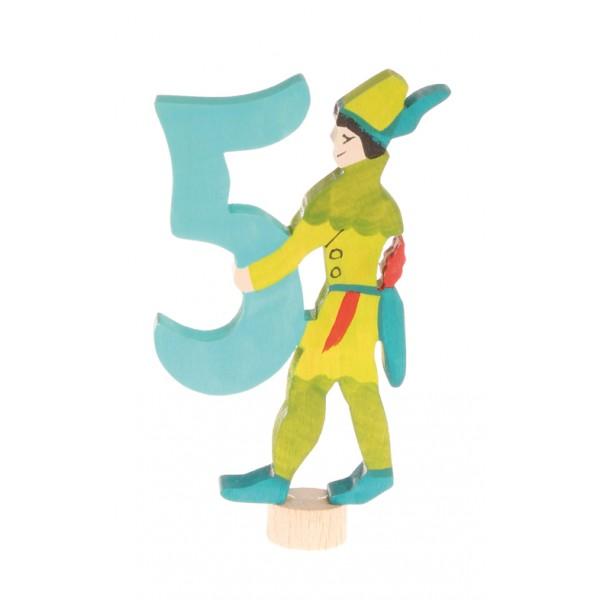 Grimms Steker sprookjes getal cijfer 5 Robin Hood
