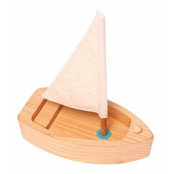 Zeilboot naturel
