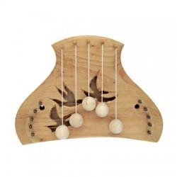 Snaar voor harp of deurharp traditioneel