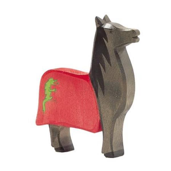 Ostheimer Paard zwart v. zwarte ridder