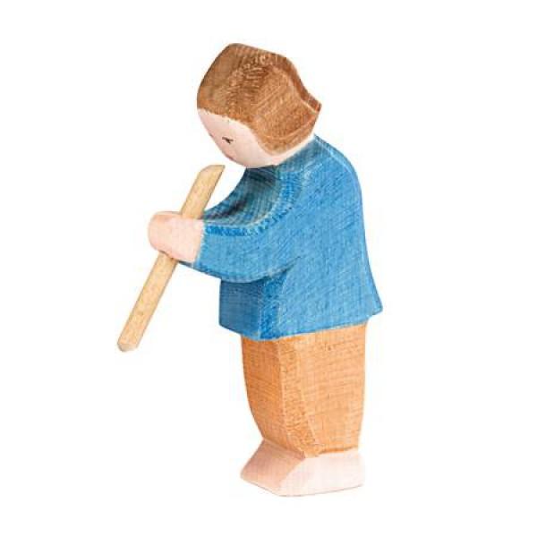 Ostheimer Jongen of zoon met fluit