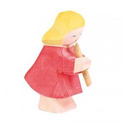 Meisje of dochter met fluit
