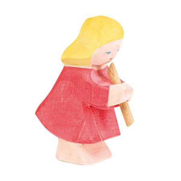 Ostheimer Meisje of dochter met fluit