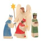 Ostheimer Kerststal mini met bogen complete set