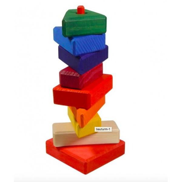 Ostheimer Blokken gekleurd bont op stok - nieuw 2017