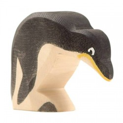 Pinguin buigend