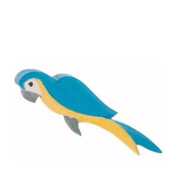 Ostheimer Papegaai blauw