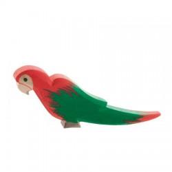 Papegaai rood