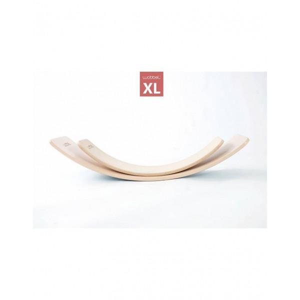 Wobbel XL blank hout gelakt