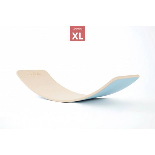 Wobbel XL blank gelakt met vilt lucht